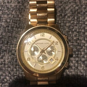 Michael Kors Men's Runway Chronograph Watch MK8077